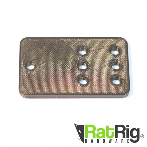 Pulley Plate for Ratrig and Openbuilds V-slot 3D Print 95142