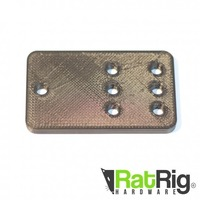 Small Pulley Plate for Ratrig and Openbuilds V-slot 3D Printing 95142