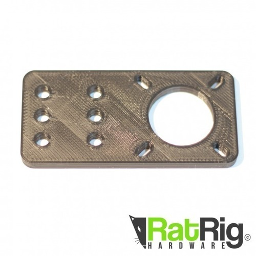 Motor Mount Plate for Ratrig and Openbuilds V-slot 3D Print 95143