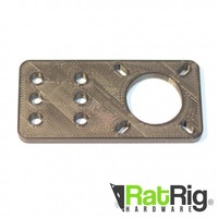 Small Motor Mount Plate for Ratrig and Openbuilds V-slot 3D Printing 95143
