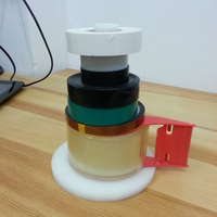 Small Tape holder for all your tape! 3D Printing 95155
