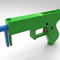 Small gun design 5 3D Printing 95249