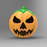 Small pumpkin  3D Printing 95322