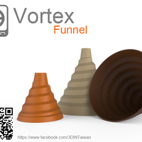 Small Vortex funnel 3D Printing 95476