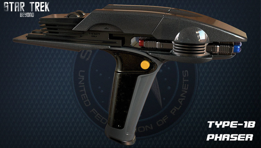 Star Trek Beyond Type-1B Phaser 3D Print 95483