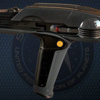 Small Star Trek Beyond Type-1B Phaser 3D Printing 95483