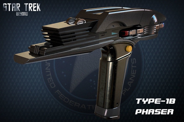 Star Trek Beyond Type-1B Phaser 3D Print 95484