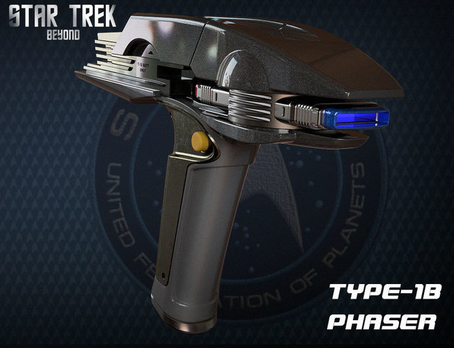 Star Trek Beyond Type-1B Phaser 3D Print 95485