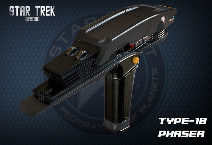 Star Trek Beyond Type-1B Phaser 3D Print 95486