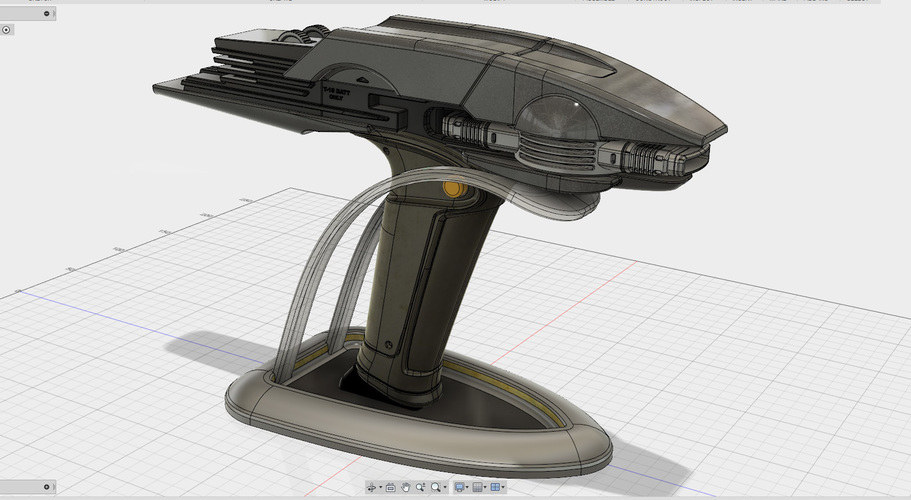Star Trek Beyond Type-1B Phaser 3D Print 95487