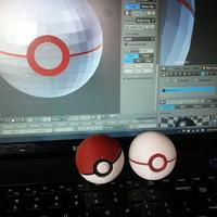 Small Pokeball 3D Printing 95508