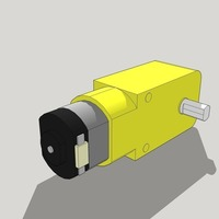 Small Reductor Motor 3D Printing 95580