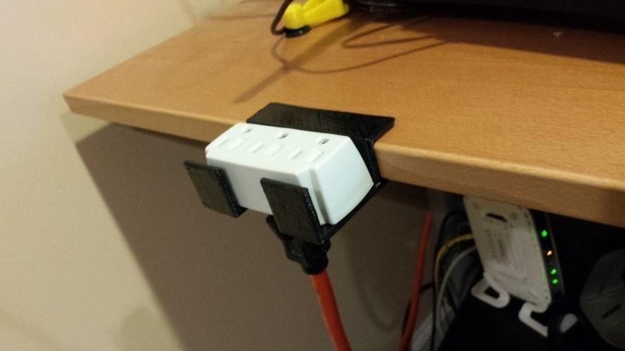 Desk Edge Holder 3D Print 95609