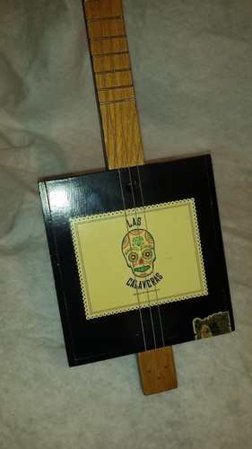 Cigar Box Guitar Nut 3D Print 95624