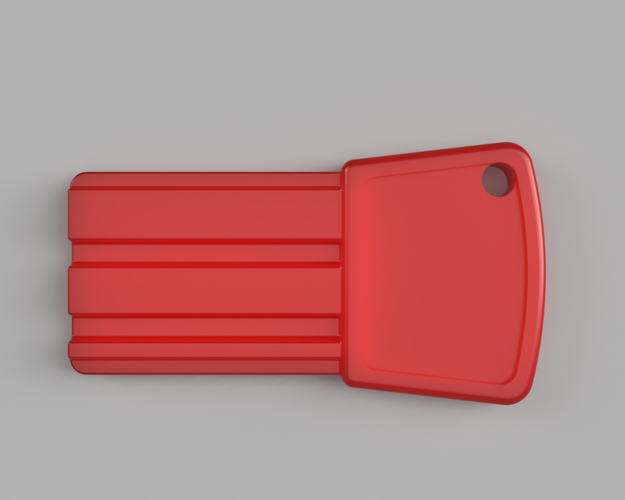 Pilsan Battery-Powered Car Key 3D Print 95672