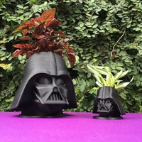 Small CoolPots # 2 - Darth Vader 3D Printing 95726
