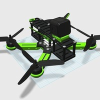 Small Sayha - X FPV Quadcopter  3D Printing 95807