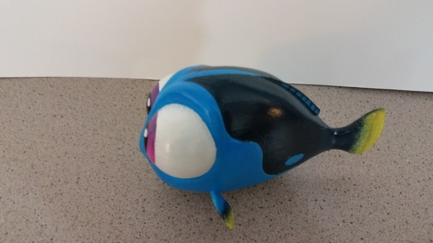Baby Dory - Pixar Finding Dory 3D Print 95912