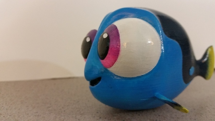 Baby Dory - Pixar Finding Dory 3D Print 95914