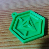 Small Ingress logo keychain 3D Printing 95983