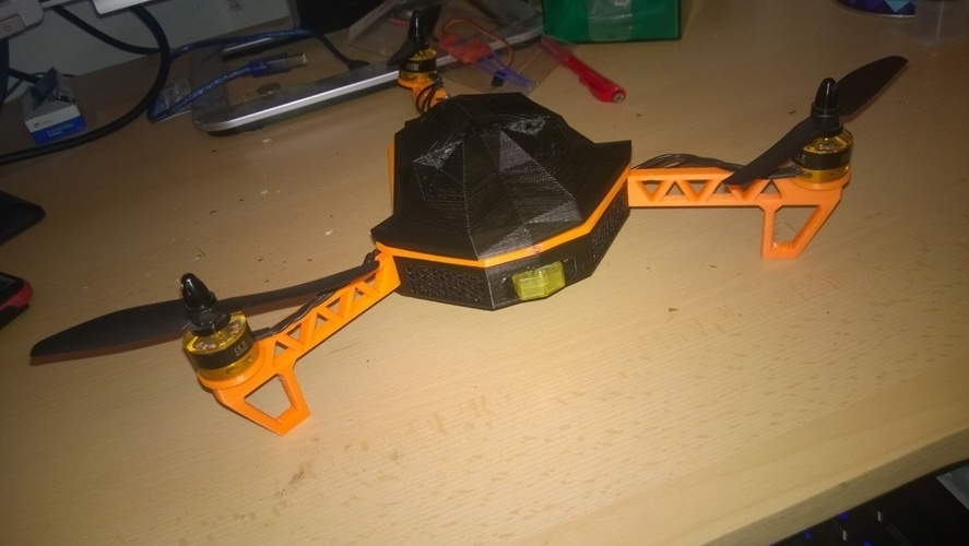 Tricopter 3D Print 96000