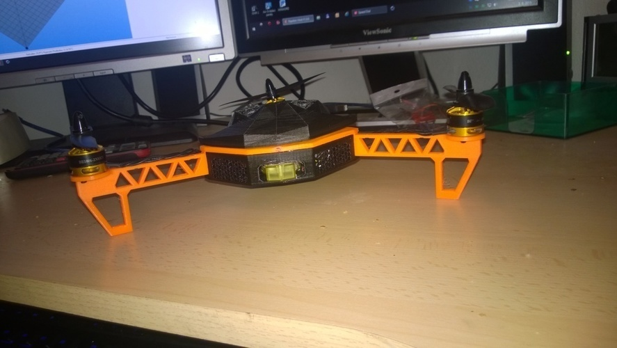 Tricopter 3D Print 96001