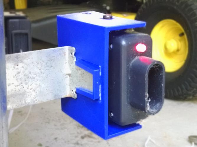 3d Printed Garage Door Sensor Mount By Pcon Pinshape