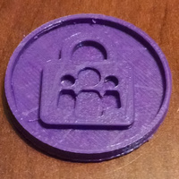 Small Trailhead: Data Security token 3D Printing 96033