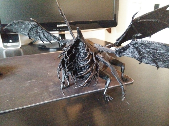 Gaping Dragon - Dark Souls 3D Print 96059