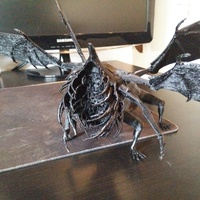 Small Gaping Dragon - Dark Souls 3D Printing 96059