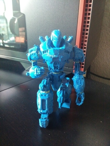 Liberty Prime from Fallout 4 - Action Figure 3D Print 96078