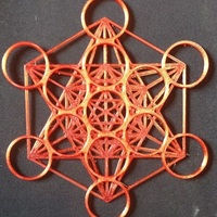 Small Metatron's Cube - 200MM 3D Printing 96183