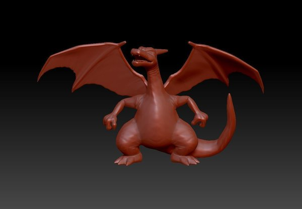 Medium CHARIZARD - Pokemon 3D Printing 96185