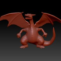 Small CHARIZARD - Pokemon 3D Printing 96185