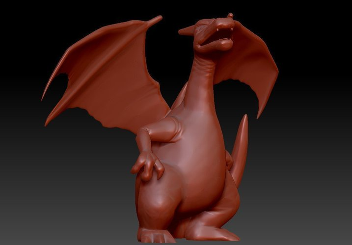 CHARIZARD - Pokemon 3D Print 96186