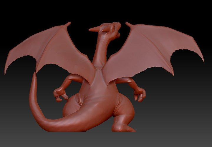 CHARIZARD - Pokemon 3D Print 96187