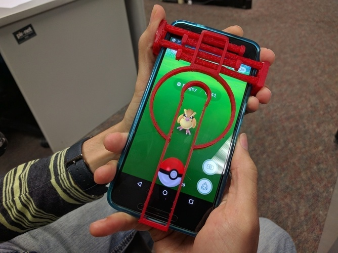 Adjustable Pokemon Go Aim 3D Print 96201