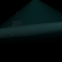 Small USS Virginia 3D Printing 96222