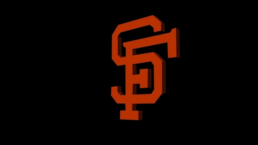 San Francisco Giants 3D Print 96229