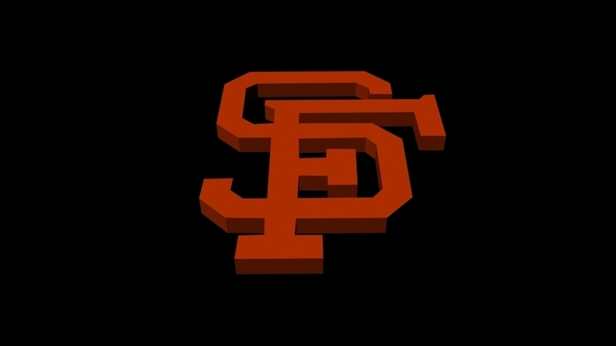 San Francisco Giants 3D Print 96230