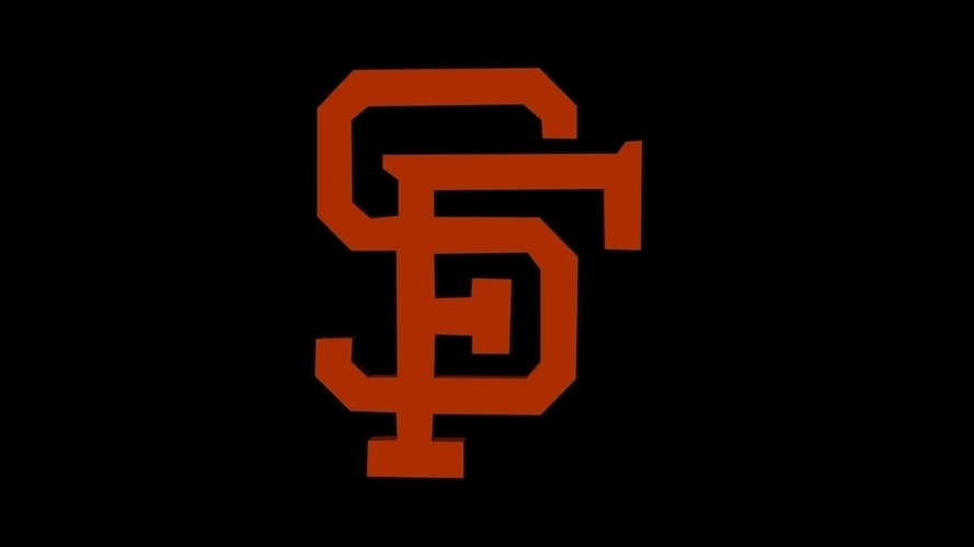San Francisco Giants 3D Print 96231