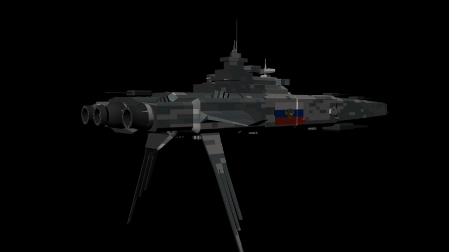 Cruiser (Electronic Warfare) - Stalin 3D Print 96237