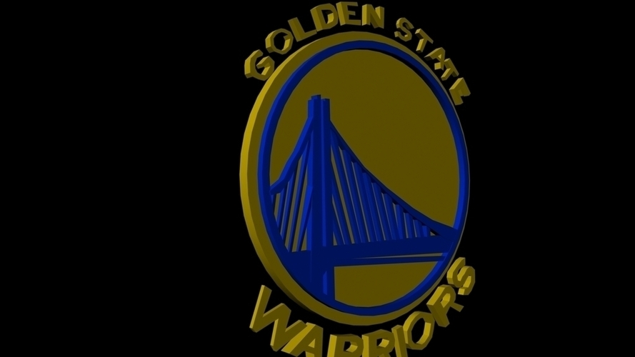 Golden State Warriors 3D Print 96239