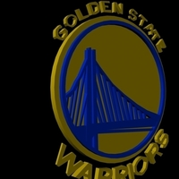 Small Golden State Warriors 3D Printing 96239
