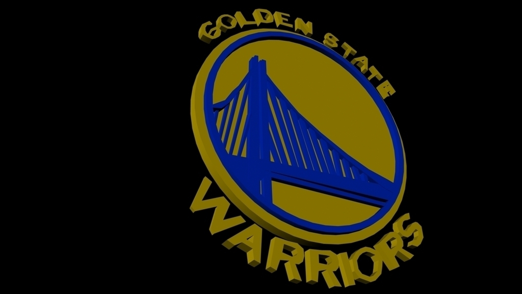 c7e8bb02978 3D Printed Golden State Warriors by philswift