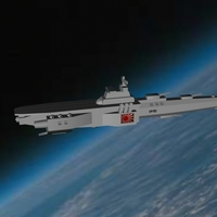 Small Imperial Japanese Orbital Navy - Battle Carrier Ise 3D Printing 96301
