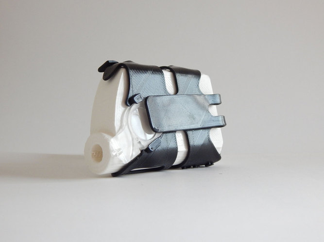 Needle and filament - insulin pump cover 3D Print 96331