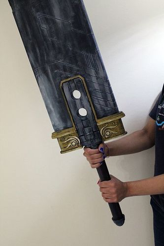 Final Fantasy VII - Buster Sword (Cloud, Zack, Angeal) 3D Print 96422