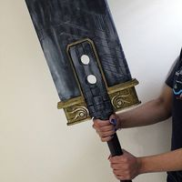 Small Final Fantasy VII - Buster Sword (Cloud, Zack, Angeal) 3D Printing 96422