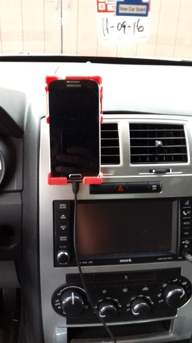 Galaxy S4 Car Vent Phone Holder ver. 1.2 Final 3D Print 96504